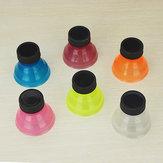 6шт творческие соды заставки ботворезы многоразовые крышки бутылки может конвертировать