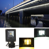 10W PIR Motion Sensor LED Flood Light IP65 Warm / Koud Wit Verlichting