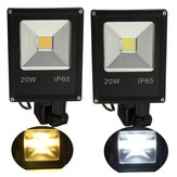 20W PIR Motion Sensor LED Flood Light IP65 Warm / Koud Wit Verlichting