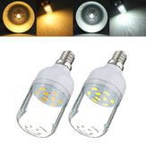 E12 3W White/Warm White 9 SMD 5730 LED Light 300LM Spot Corn Bulb 220V