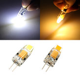 G4 LED Bulbs 1W Transparent White/Warm White Corn Light Lamp AC/DC 12V