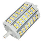 Ampoule R7S LED 10W 118mm Blanc Chaud AC 85-265V 42 SMD 5050 Maïs Lumière