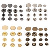 15pcs Snap Bevestigingen Popper Press Stud Naaien Leather Button