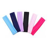 Honana BX-808 Elástico Ladys Plain Headbrand Yoga Bolsa Sport Wash Face Snood 6 colores