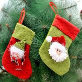 1 قطعة عيد الميلاد الجورب حشو السراويل علاج هدية كيس كيس