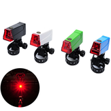LED BiKe Taillight Safety Safety ضوء MTB Taillight Direction Adjustable