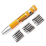 Bộ tuốc nơ vít chính xác 15 trong 1 dành cho đồng hồ trang sức với công cụ sửa chữa đồng hồ
