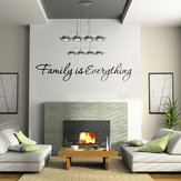 DIY Familie is Alles Verwijderbaar Home Decor Art Vinyl Quote Wall Sticker