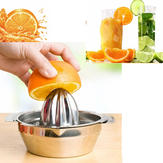 Stal nierdzewna Fruit Lemon Kitchen Citrus Juicer Hand Press Squeezer Tool