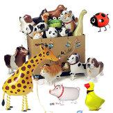 Đi bộ Pet Balloon Kids Kids Quà tặng Đảng Động vật Bong bóng
