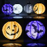 Halloween Kürbis Papierlaterne Dekoration liefert Bat Spinne Schädel