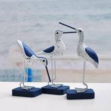 Διακοσμητική διακόσμηση μεσογειακού στιλ δημιουργική θαλασσοπούλια