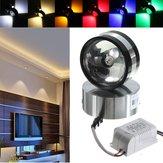 Moderno 2W alumínio LED parede lâmpada de cristal de luz forma de bola sala interior para iluminação