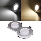 3W LED Down Light Ceiling Recessed Lamp 110V Dimmable + Driver