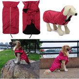 SuGeçirmezKışEvcilHayvanKöpek Köpek Boyalı Reflektif Boru Ceketi