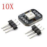 10 Stück One Bit WS2812B Seriell 5050 Vollfarbe LED Modul Geekcreit für Arduino - Produkte, die mit offiziellen Arduino-Karten funktionieren
