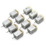 10Pcs 3V-6V 8000RPM Micro DC 130 Motor