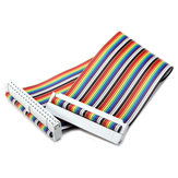 GPIO 40P Rainbow Ribbon Cable Para Raspberry Pi 2 Model B e B+