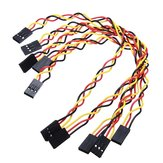 100pcs 3 Pin 20cm 2.54mm Jumper Cable DuPont Wire For  Female To Female