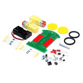 Tracking Patrol Lline Intelligen tRobot Car DIY Kit With Reduction Motor