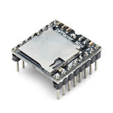 Geekcreit® DFPlayer Mini MP3 Player Module MP3 Voice Audio Decoder Board For Supporting TF Card U-Disk IO/Serial Port/AD