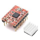 Geekcreit® impresora 3D A4988 Reprap Módulo de Controlador de Motor Paso a Paso