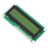3Pcs 1602 Character LCD Display Module Yellow Backlight