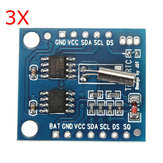 3Pcs I2C RTC DS1307 AT24C32 Real Time Clock Module For AVR ARM PIC SMD