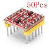 Convertitore di livello logico bidirezionale TTL da 50 pezzi 3,3 V 5V Geekcreit per Arduino - prodotti compatibili con schede Arduino ufficiali