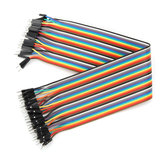40pcs 30cm Male to Male Jumper Cable Dupont Wire for