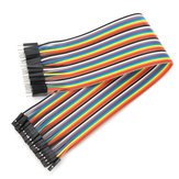 40pcs 30cm Male To Female Jumper Cable Dupont Wire For