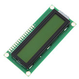 2Pcs Yellow Backlight 1602 Character LCD Display Module Geekcreit for Arduino - products that work with official Arduino boards