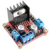 5st L298N Dual H brugstappenmotor stuurkaart Geekcreit voor Arduino - producten die werken met officiële Arduino-borden