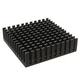 10pcs 40 x 40 x 11mm Aluminum Heat Sink Heatsink Cooling For Chip IC LED Transistor
