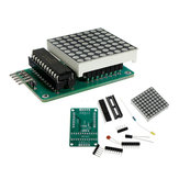 MAX7219 Dot Matrix Module DIY Kit SCM مراقبة Module