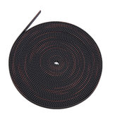 5M 2GT-6mm Rubber Opening Timing Belt S2M GT2 Belt For 3D Printer