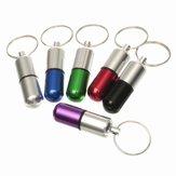 ماء الألومنيوم حبة مربع حالة حامل المفاتيح زجاجة الحاويات