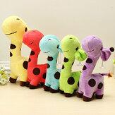 De dibujos animados de peluche multicolor jirafa sika regalo juguetes de peluche ciervos niños