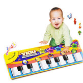 Children Touch Play Keyboard Musical Music Singing Crawl Gym Carpet Mat Pads Cushion Rugs Learn Toys Gift