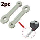 2pcs Case Ring Rubber Strap Loop For Button Remote Key Fob Loop Cobra Alarm