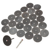 25Pcs Resin Cutting Wheel Disc + Mandrel Rotary Tool