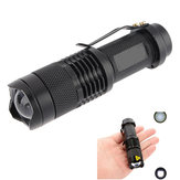 Ultrafire  XPE Q5 7w 3 Modes Zoomable LED Flashlight