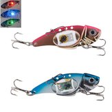 ZANLURE VIB 80mm 32g Flash LED Light Bait Fishing Lure Light Lampe de pêche électronique