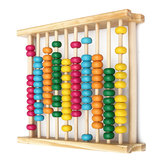 Baby Kids Houten Abacus Speelgoed Computing Calculator Math Learning Tool