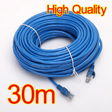 30M 100 FT RJ45 CAT5 CAT5E Ethernet LAN Kabel Jaringan