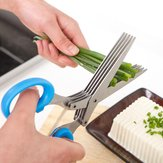 Multi-layer Stainless Steel Scissors Household Kitchen Tools