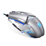 Newmen M312 2400DPI USB Wired Metal Scroll Wheel Backlit Optical Gaming Mouse