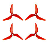 2 Pairs AZURE POWER LCP Series 5140 5 Inch 3-blade CW CCW LIGHT CONTROL Propeller for FPV Racing RC Drone