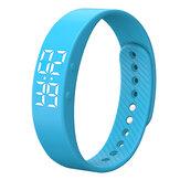 XANESV0305ALEDEkranIP65Su Geçirmez Akıllı Bilezik Pedometre Kalori Tracker Fitnes Akıllı Izle