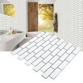 Azulejos de pared autoadhesivos 3D Patrón Pegatinas de pared Cocina Cuarto de baño Decoraciones para el hogar